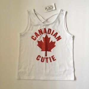 NWT C.Place 4T Canada maple leaf tank top